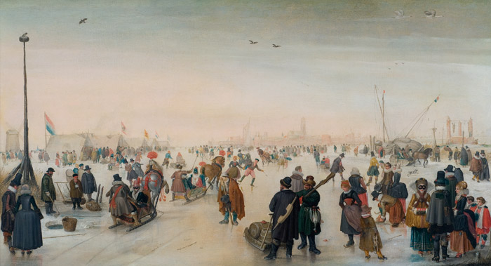 Dutch artist Hendrick Avercamp famously depicted Europeans enjoying unusually cold winters during the Little Ice Age