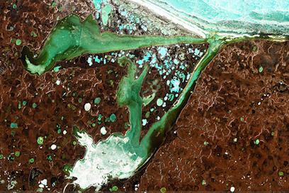 Permafrost thaw in Siberia